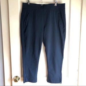 Athleta Navy Blue Chino Pants